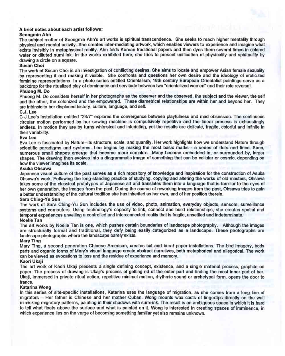 Contrary Equilibriums press release, pg 2