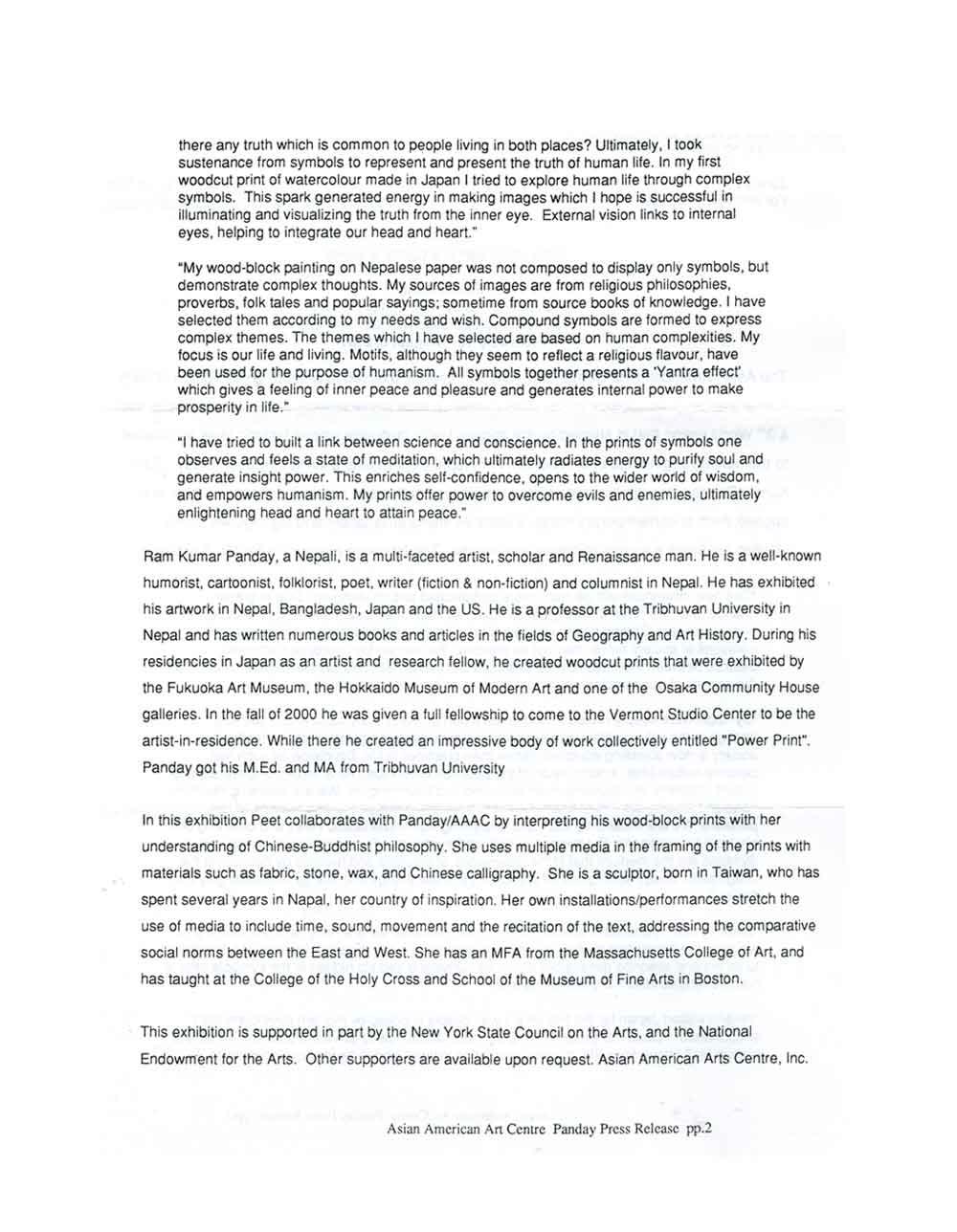 Power Print, press release, pg 2