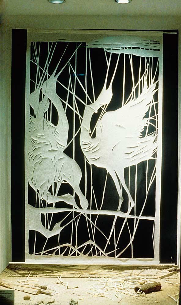 Memories of Dancing Cranes