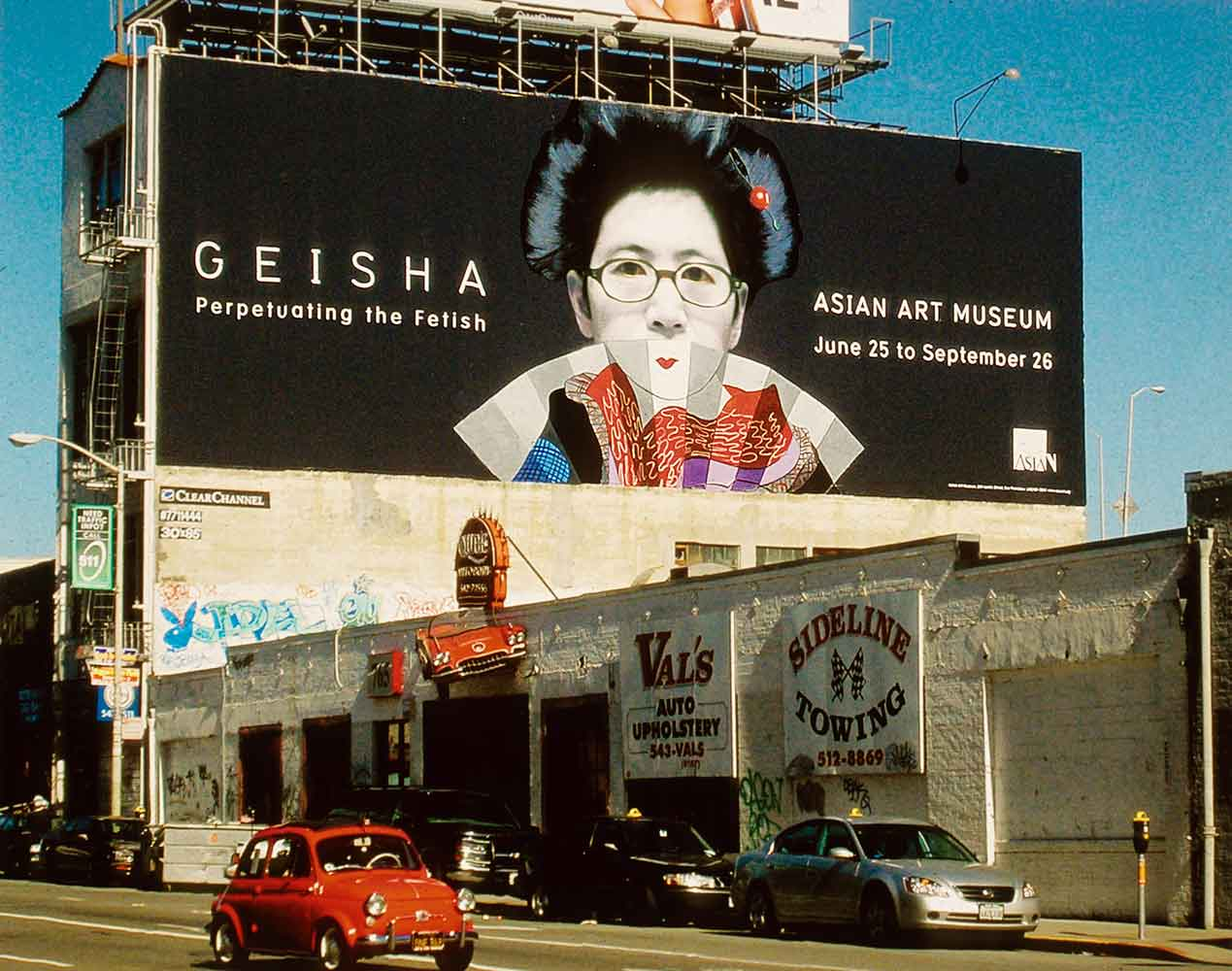 My Geisha Fantasy #1: Billboard Liberation