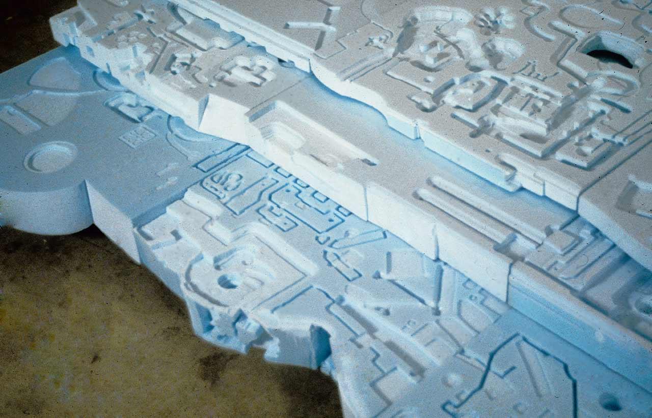 Polyphantasmer Blue (detail)