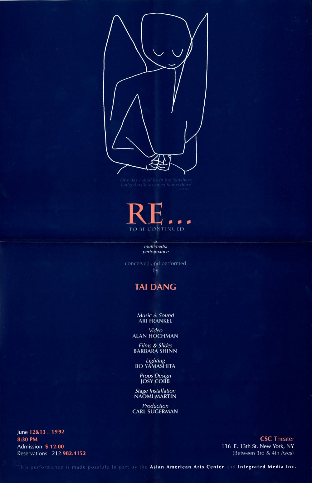 RE... To Be Continued, poster