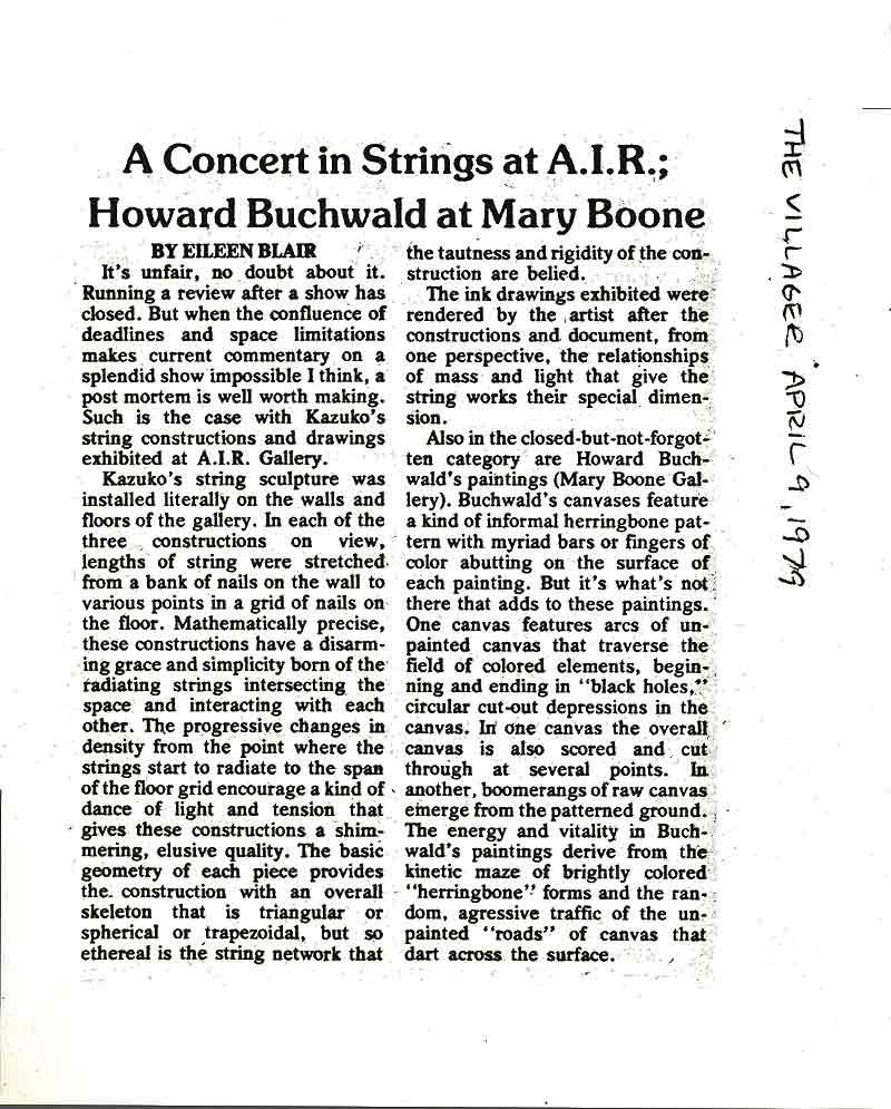 A Concert in Strings at A. I. R., review