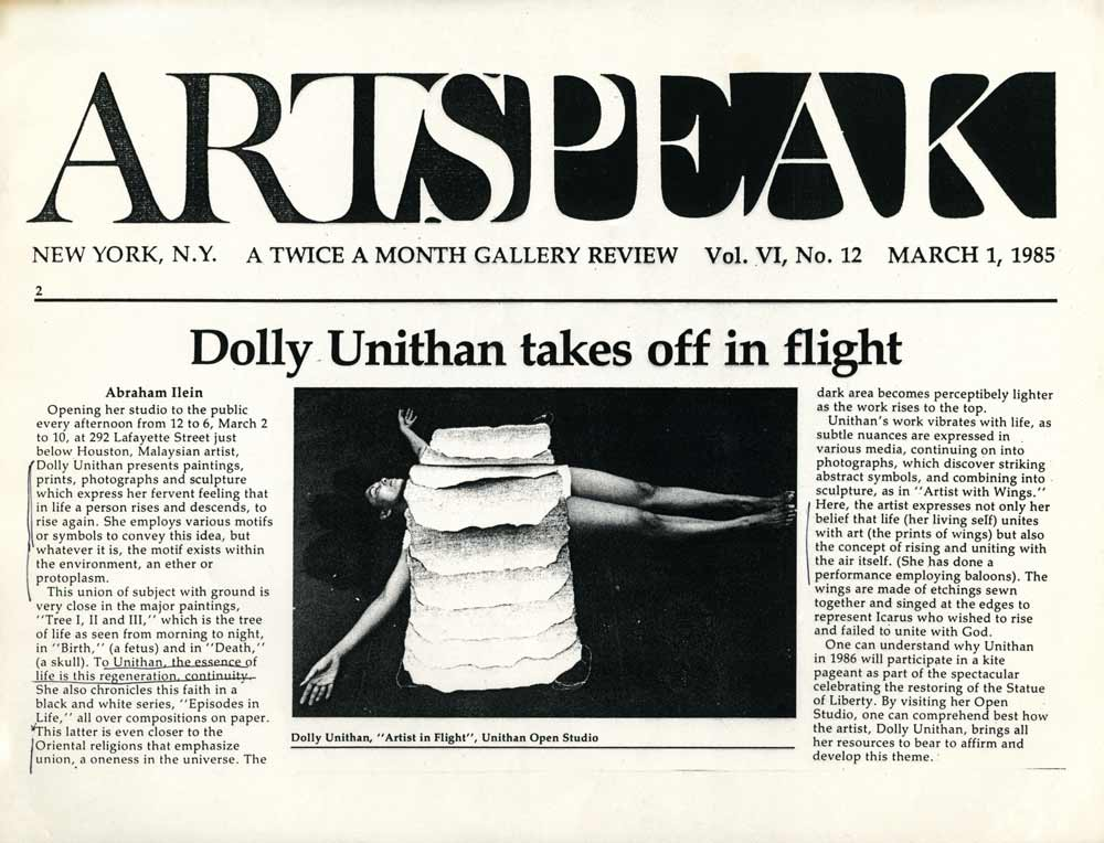 Artspeak article
