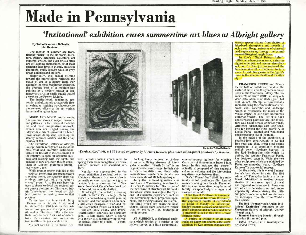 Made in Pennsylvania, article