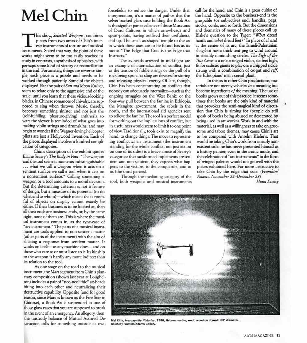 Chin Arts Magazine