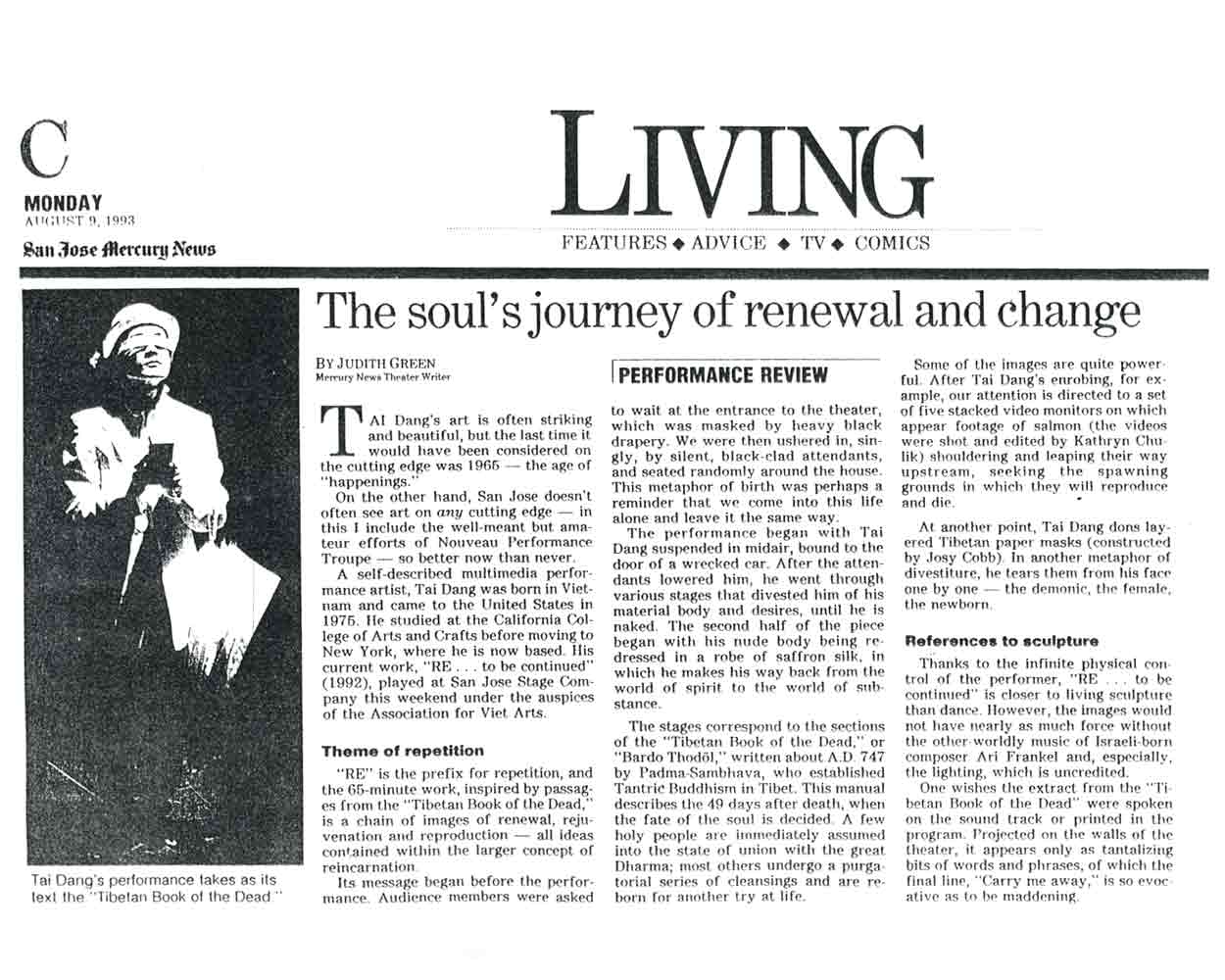 The Soul's Journey of Renewal and Change
