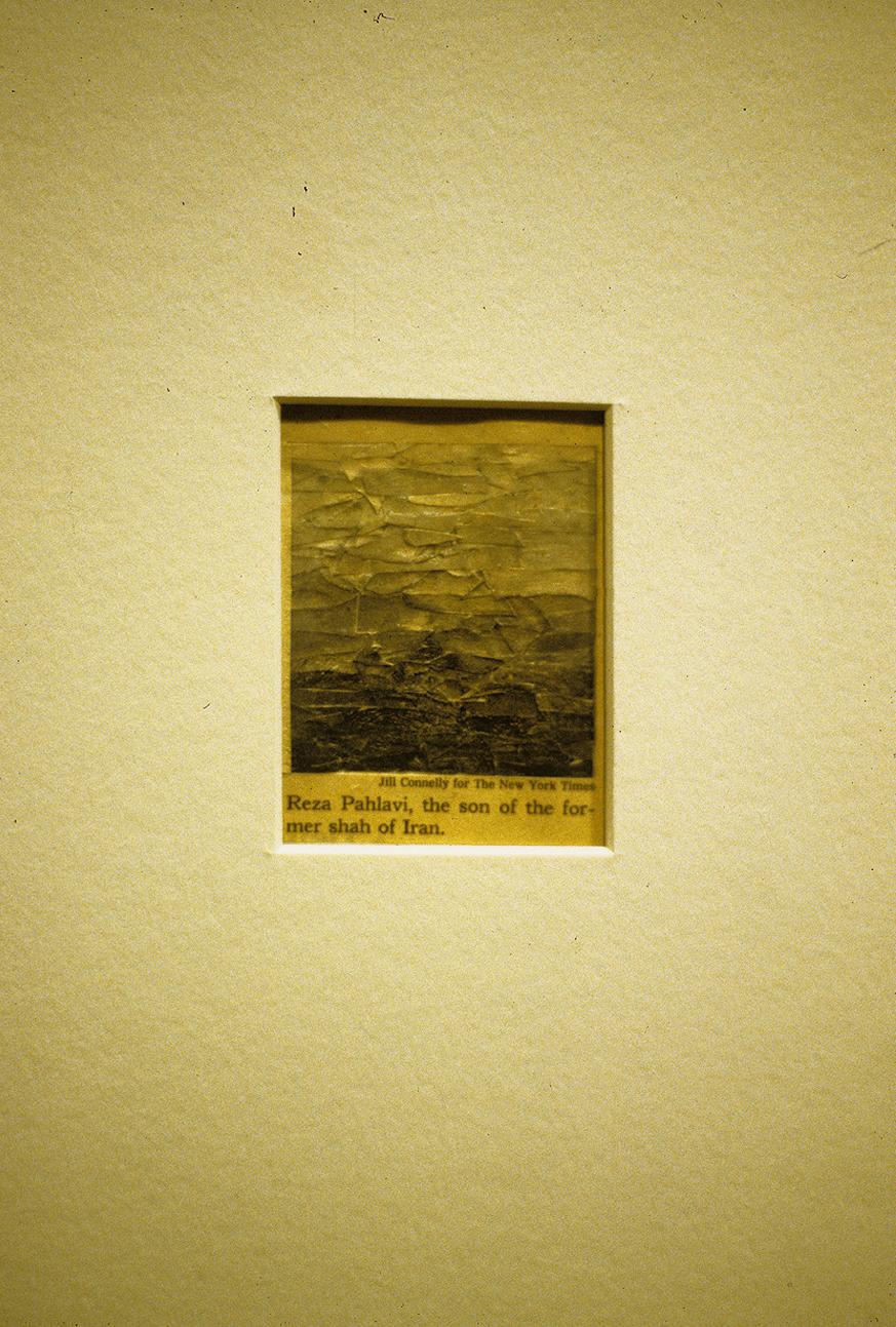 hree Portraits Arranged By Tone (2002)